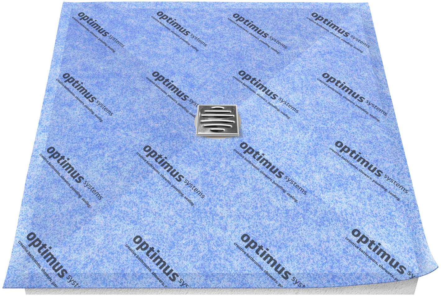opti slimline duschboard – nur 13 mm stark mit edlen designrosten